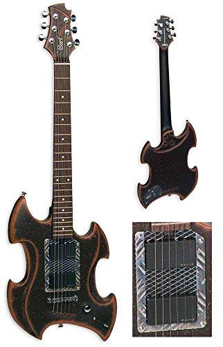 Guitare électrique Cort Moscato 2 brun sombre rouillé