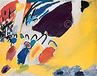 Impression III Concert 1911 R.375 Wassily Kandinsky Abstract Contemporary Print Poster 30x24