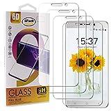Guran 4 Paquete Cristal Templado Protector de Pantalla para Blackview A10 Smartphone 9H Dureza Anti-Ara?azos Alta Definicion Transparente Película