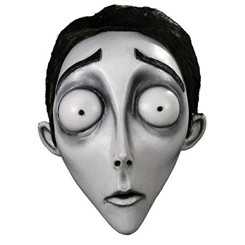 Trick or Treat Studios Men's Corpse Bride-Victor Mask, Multi, One Size