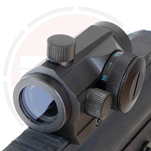 HOLOGRÁFICOS ROJO + Verde Visor de punto / Micro M1 AIRSOFT Rifle Vista