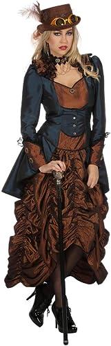 Horror-Shop Premium Steampunk Kostümkleid für Damen 46