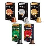 Gimoka, Capsule In Alluminio Compatibili Nespresso Assortimento Miscele Caffè E Monorigini - 00 Capsule