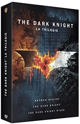 The Dark Knight : La Trilogie / Batman Begins - The Dark Knight - The Dark Knight Rises - COFFRET RELIEF 6 DVD + Livret Exclusif 64 Pages - The Art And The Making Of The Dark Knight Trilogy [DVD]