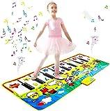 Alfombrilla De Música Para Niños-Alfombrilla Para Gatear Con Música Para Educación Temprana Para Bebés Alfombrilla Para Piano Doble Alfombrilla Para Suelo De Piano Alfombrilla De Baile Para