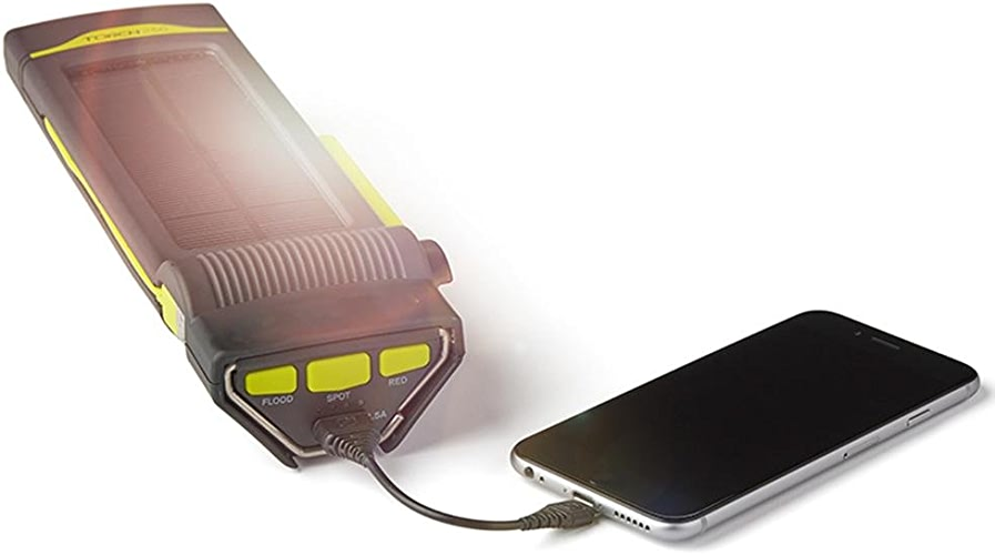 XCF Lumières Solaires Tentes Lumière Led Rechargeable Lampe De Poche Main Génération D'énergie