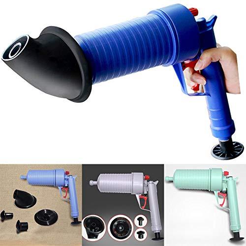 Fesjoy Pulitore di Scarico Manuale per Bagno Pneumatico ad Alta Pressione con Pompa pneumatica per pistone a pistone