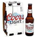 Coors Light 4 x 330 ml