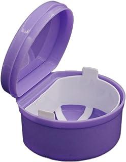 Denture Bath Case Container,VENMO Dental Flase Teeth Bath