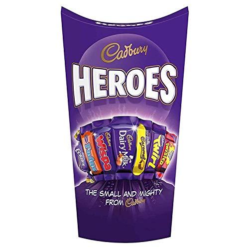 Cadbury Heroes 290g, Cadbury Heroes is een mix van miniatuur chocoladerepen, met al je favoriete Cadbury-klassiekers in…