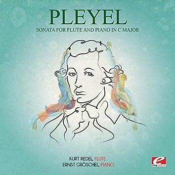 Pleyel: Sonata for Flute and Piano in C Major (Digitally Remastered)