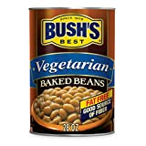 BUSH'S BEST Baked Beans Vegetarian, 28 Ounce Can (Pack of 12), with Protein and Fiber, Low Fat,...