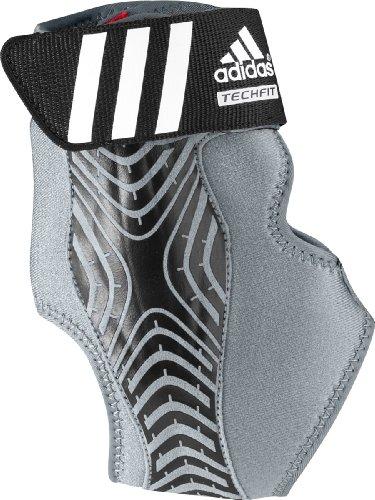 adidas Performance adizero Speedwrap Right Ankle Brace, Medium Lead/Black, Medium