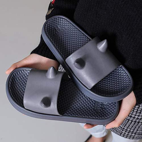 XWHKX Zapatillas Deportivas de Verano para Mujer Sandalias deslizantes Zapatillas de Playa Zapatillas Sandalias Zapatillas Antideslizantes de Fondo Suave Zapatos de Mujer para Hombre