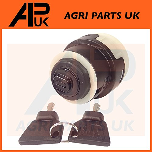 BODYART 4 Pcs Spare Keys 14607 Ignition Key Plant Applications for JCB BOBCAT BOMAG MANITOU Tractor