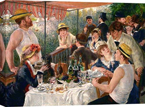 Art Print CAFÉ – Kunstdruck auf Leinwand - Pierre-Auguste Renoir, Luncheon of The Boating Party – 60x40 cm