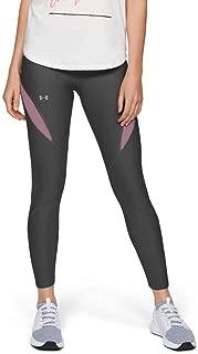 Under Armour Women's Vanish Ankle Crop TIGHTS, Grey (Jet Gray/purple Prime/tonal), Large