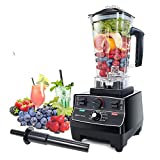 Blender Professional Countertop Blender, 2000W High Speed Smoothie Blender/Mixer for Shakes and Smoothies, commercial blender Crusing Ice, Frozen Desser with Timer, 68OZ BPA-Free Tritan Jar, Smoothie Maker Grey BATEERUN (Model2)