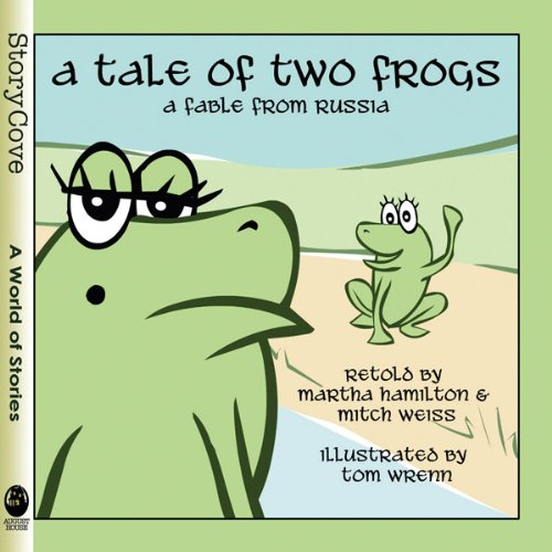 A Tale of Two Frogs audiobook cover art