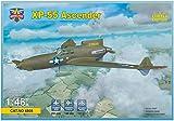 モデルズビット 1/48 アメリカ陸軍 カーチスXP-55アセンダー 試作戦闘機 プラモデル MVT4808