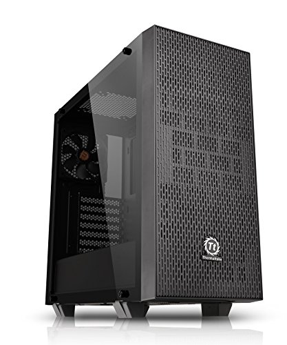 Thermaltake Core G21 Tempered Glass SPCC ATX Mid Tower Tt LCS Certified Gaming Computer Chassis Cases CA-1I4-00M1WN-00