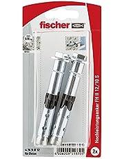 Fischer 051370 SB-K, inhoud: 2 x krachtige anker FH II 12/10 S (6kt-schroef)