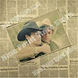 JMHomeDecor Brokeback Mountain Classic Filmplakat Bar Cafe
