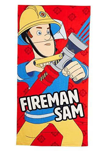 Brandweerman Sam Beach Handdoek Kids Bad Handdoek Jongens Karakter Zwembad Vakantie Zwembad Kit Wikkel Een Maat
