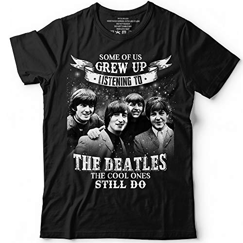 Some Of Us Grew Up Listening To Beatles - Classic Music Beatles Fans Customized T-Shirt Hoodie/Long Sleeve/Tank Top/Sweatshirt