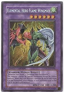 Yu-Gi-Oh! - Elemental Hero Flame Wingman (EHC1-EN004) - Elemental Hero Collection 1 - Limited Edition - Secret Rare