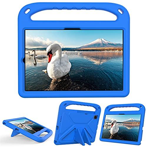 GOZOPO Funda infantil para Samsung Galaxy Tab A7 10.4 (2020), Galaxy Tab S6 Lite 10.4 pulgadas, Ultra ligera, Resistente a los golpes, Azul