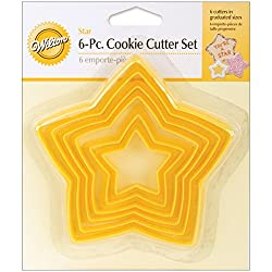 Wilton Set of 6 Nesting Star Cutters