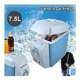 G-Jbx Tragbare Mini-Auto-Kühlschrank Gefrierschrank Kühl- / Warmer DC 12VPortable Kühlschrank Kühlschrank 7.5L Ohne Fluorine Pollution for Reisen