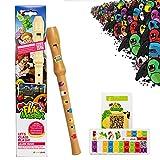 Flauta dulce de madera para niños – Incluye aplicación 'Flute Master' – Flauta aprender a jugar a partir de 6 años (edición especial con flauta de madera en alemán