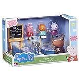 Officel peppa pig playset de la salle de classe - madame la gazelle & peppa pig personnalités dont peppa pig & amis