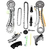 SCITOO TK4090 Timing Chain Kit Cam Chain Tensioner Cam Sprocket Cam Chain Guide Rail fits for 97-09 for Ford Explorer for Mazda B4000 for Mercury Mountaineer