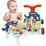 WBLin Juguetes multifunción de Andador de bebé + Caja de Agua de Peso para Carro de niño pequeño Walker