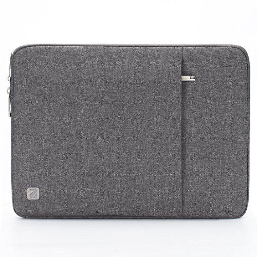 Nidoo Laptop-Schutzhülle, 15,6 Zoll, wasserdicht, für Lenovo IdeaPad 530S 3 5/ThinkPad P53S E595 L590/Swift 3/17,3 Zoll, Dell XPS 17/Precision 5750, Grau