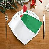 Pac Mac Stoffservietten mit Madagaskar-Flaggen-Themen, perfektes Design, perfekt für Küchen, Hochzeiten, Partys, Feiertage, Abendessen, Thanksgiving & Weihnachten.