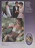 Dare to dream! Maidenform Chantilly bra panties & slip ad 1984 Vg