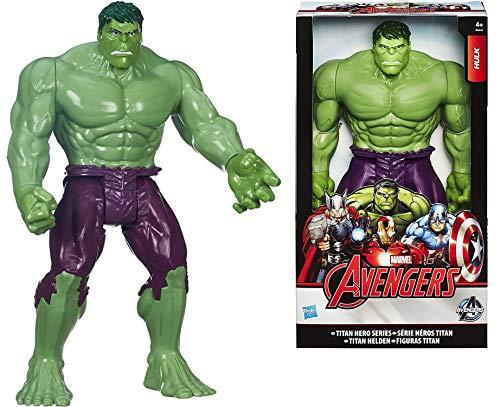Titans Hero Series Hulk 12 inch Tall Action Figure from Marvel Avengers