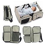 Webeauty  3 en 1 bebe de viaje Cuna/bolsas de pañales & portatil cuna cama para...