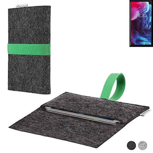 flat.design Handy Hülle Aveiro für Archos Oxygen 63XL passexakte Filz Tasche Hülle Sleeve Made in Germany