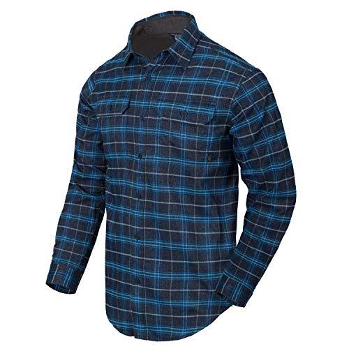 Helikon-Tex GreyMan T-shirt en polyester et nylon mélangé L Blue Stonework Play.