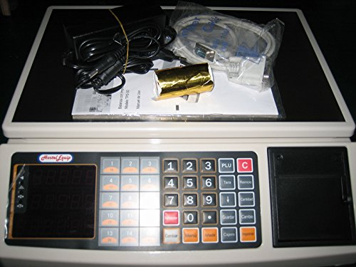 balanza bascula registradora con impresora de ticket y 1.000 plus