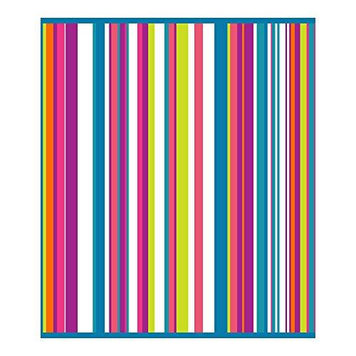 Secaneta Toalla de Playa Tamao Doble de 175x150 cm Algodn Egipcio 100%, Belice, Multicolor, 75 x 150 cm