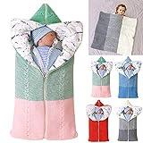 manta de cochecito de bebé, manta de bebé recién nacido saco de dormir...
