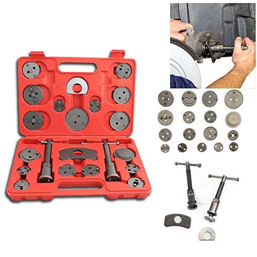 Karpal 22-TLG Bremskolbenrücksteller Bremsbackensatz Kolben Rücksteller Bremse Werkzeug