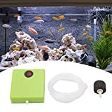 Aquarium Air Pump Portable Battery Operated Fish Tank Oxygen Aerator Pump with Air Stone and Tube