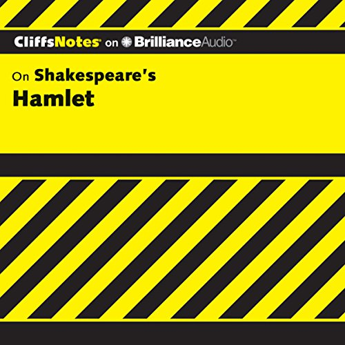 Hamlet: CliffsNotes audiobook cover art